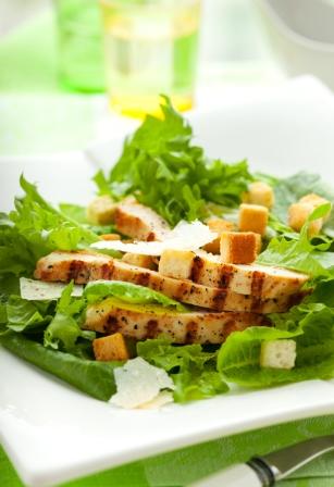 chicken teriyaki salad
