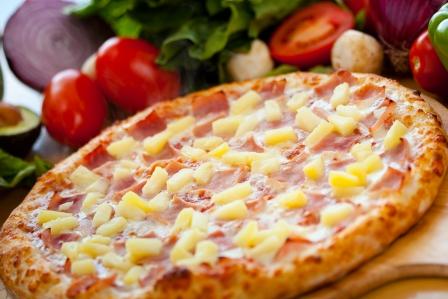 hawaiian bandidas pizza