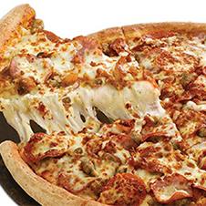 Meat lover's bulldog pizza